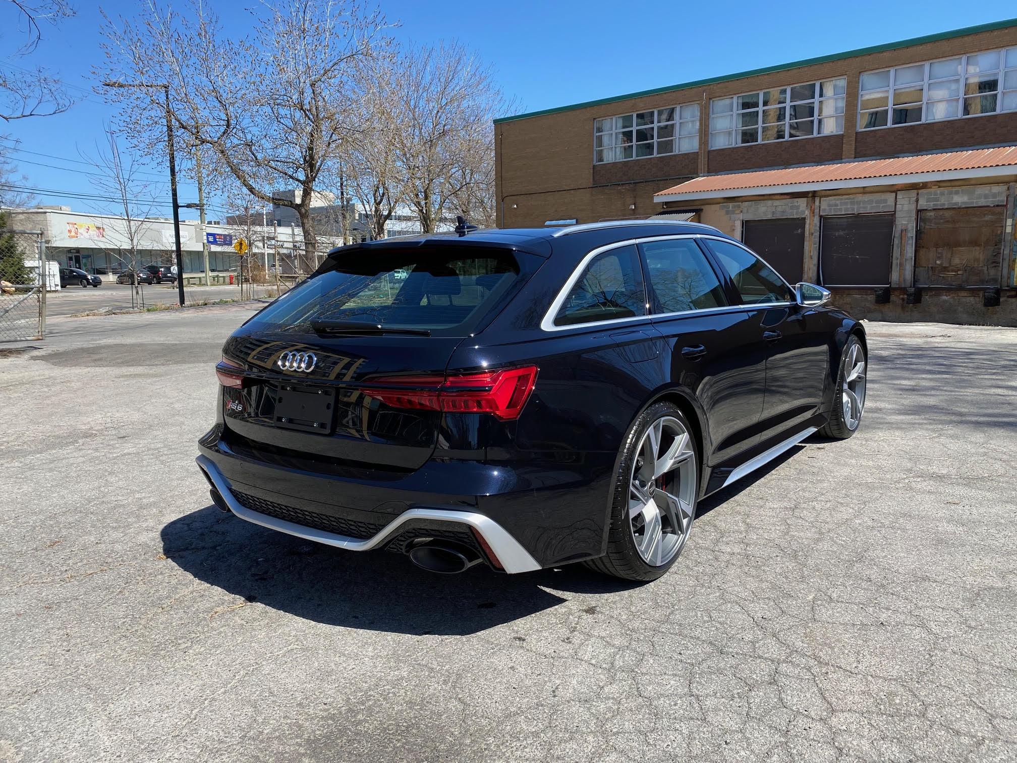 2021 Audi RS6 - Montreal Motor Car Leasing